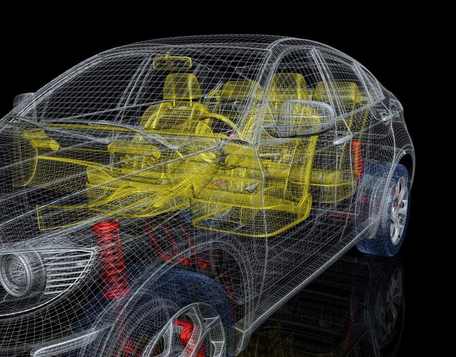 Interior amp Exterior Automotive CAD Services From Affluent